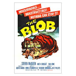Портретный постер Blob