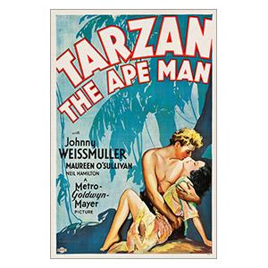Портретный постер Tarzan