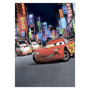 Панорамный постер Cars