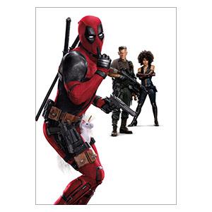 Панорамный постер Deadpool
