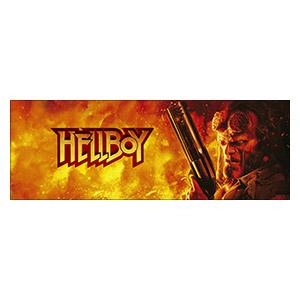 Подарочная обёртка для постеров Hellboy