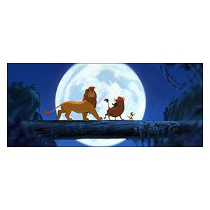 Подарочная обёртка для постеров Lion King