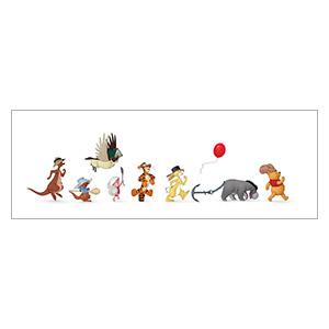 Подарочная обёртка для постеров Winnie the Pooh